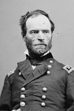 General Wm. T. Sherman, Union Army