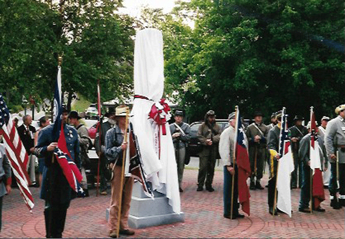 Mill Worker Monument unveiling July 2000, Roswell, Georgia