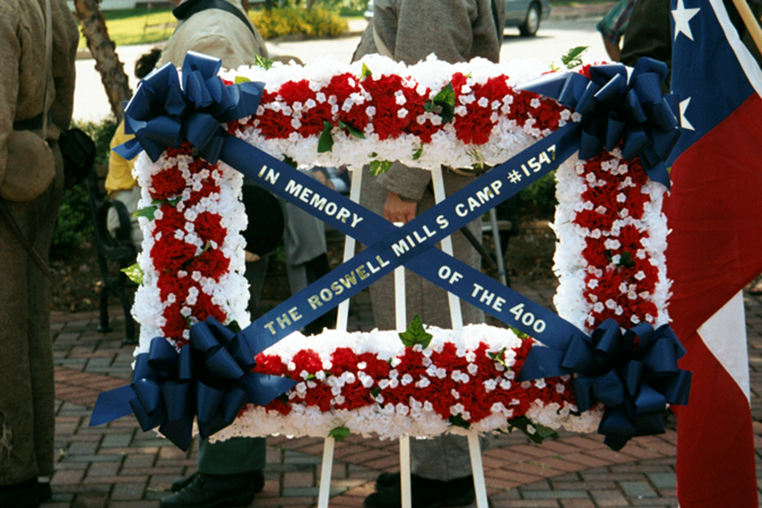 Mill Worker Memorial Service Wreath,